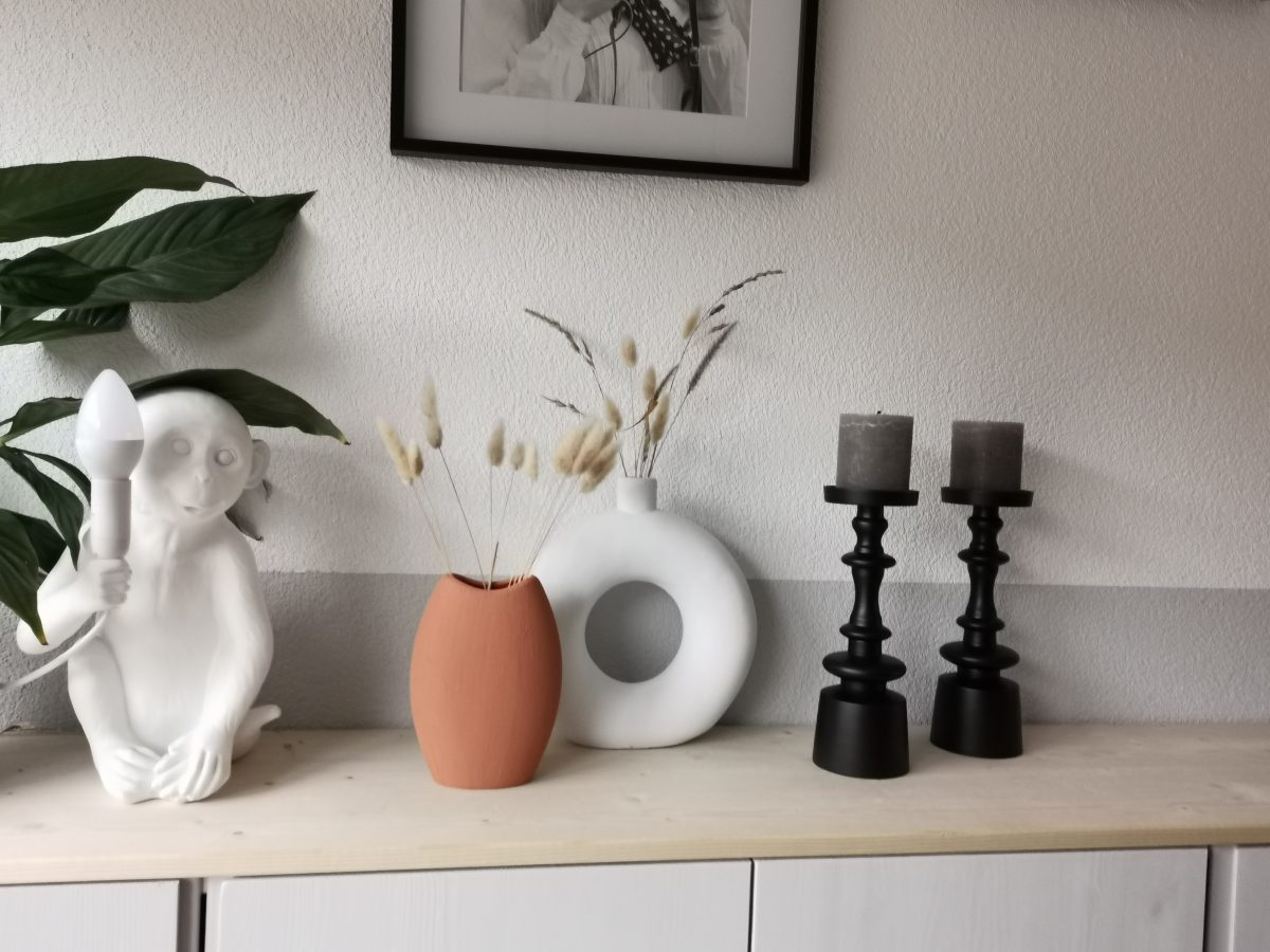 DIY terracotta vaas