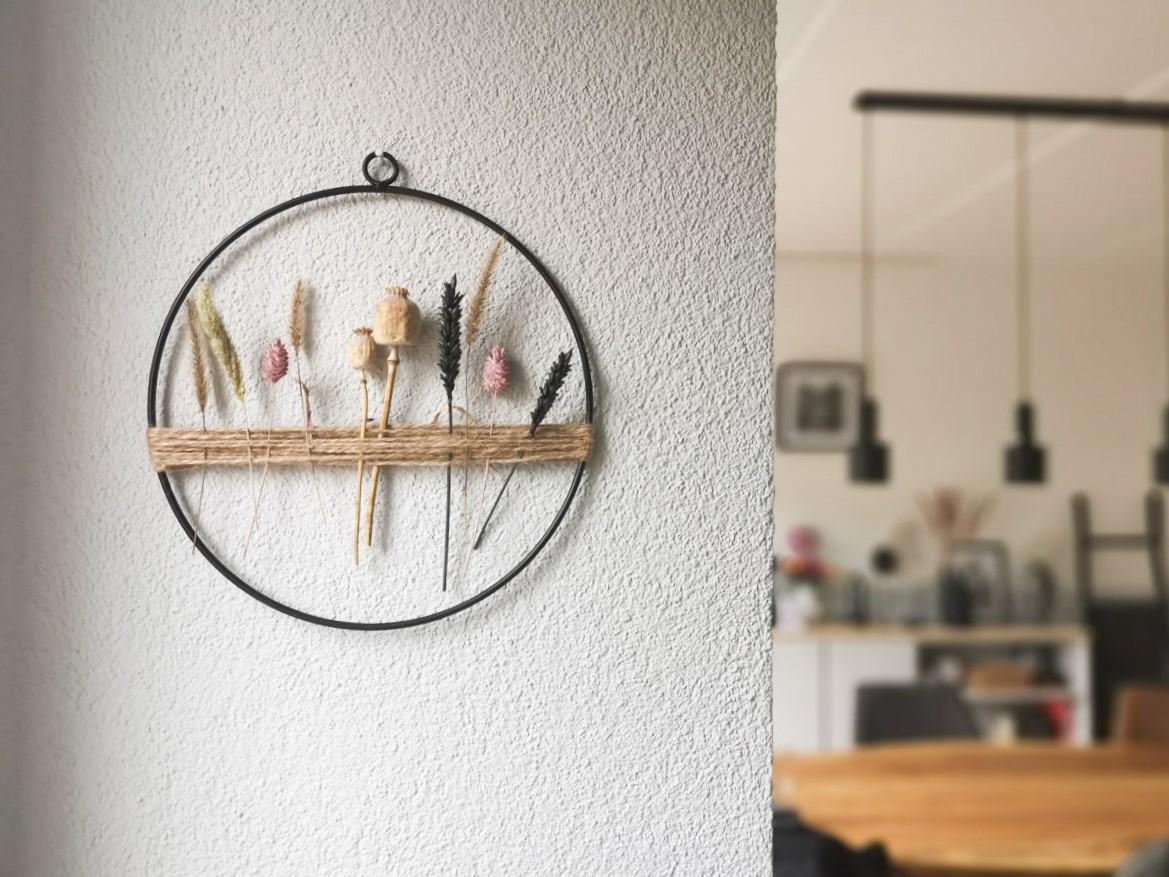 DIY Droogbloemen hanger
