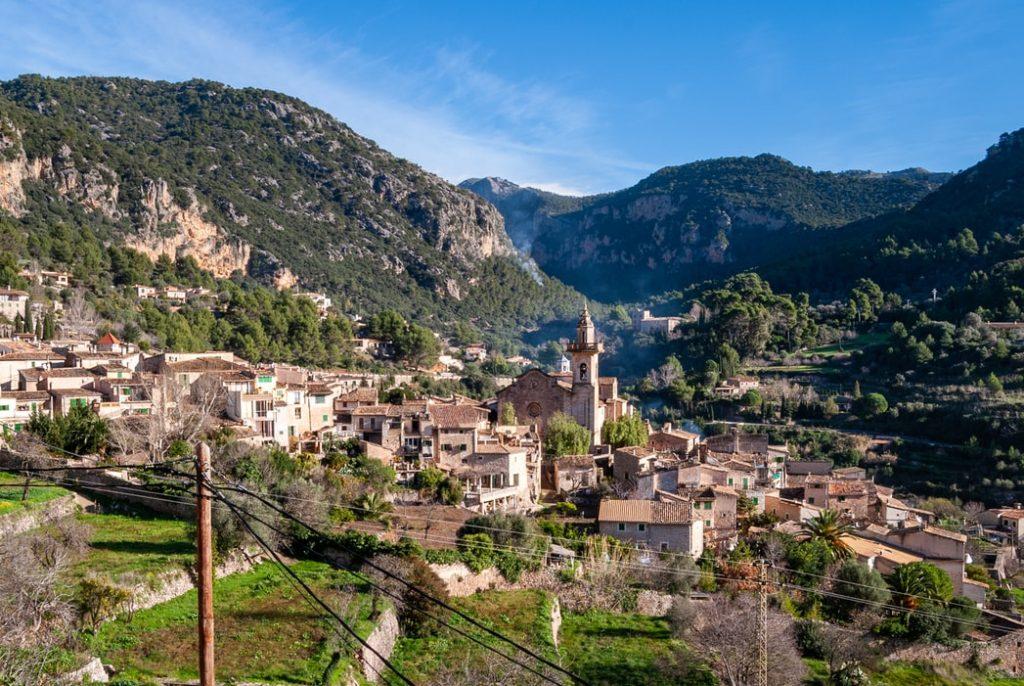 Het verscholen bergdorpje Valldemossa